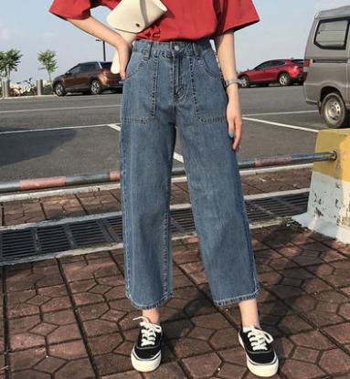 西安便宜牛仔裤韩版时尚弹力小脚裤高腰女士裤子便宜杂款牛仔裤清仓