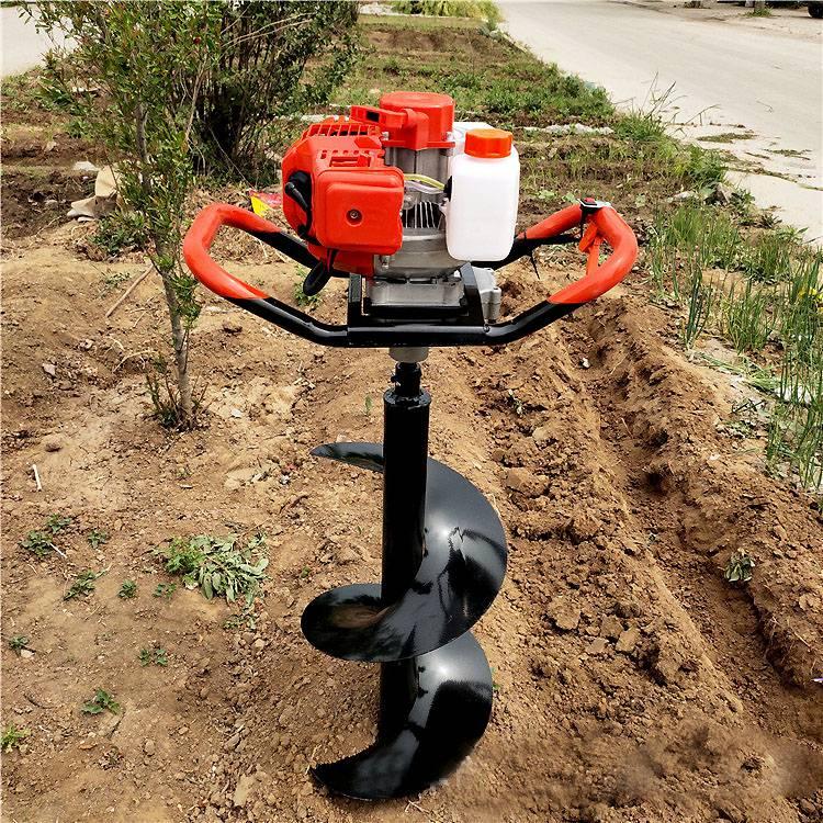 汽油挖坑机 小型便携式挖坑机 轻便手提式植树机