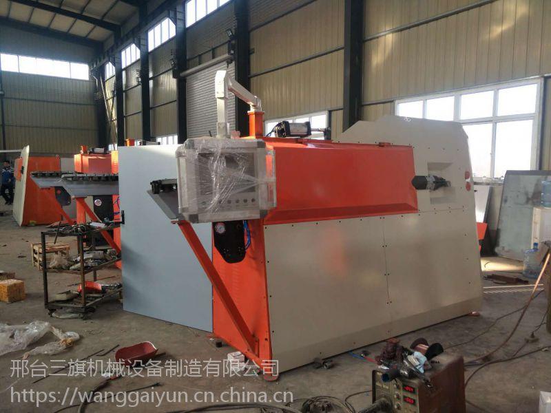 生产钢筋弯箍机弯箍机操作过程