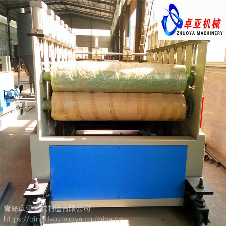 PVC结皮发泡墙板生产线 PVC发泡地板生产线