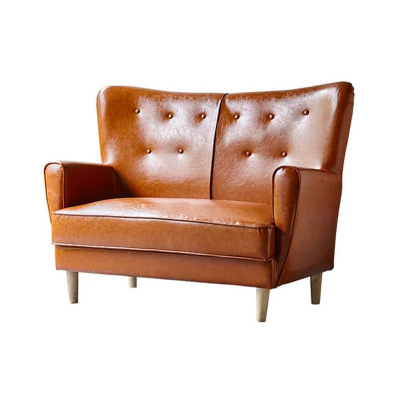 潮州高级会所餐厅卡座沙发定做,双人位扶手沙发款式