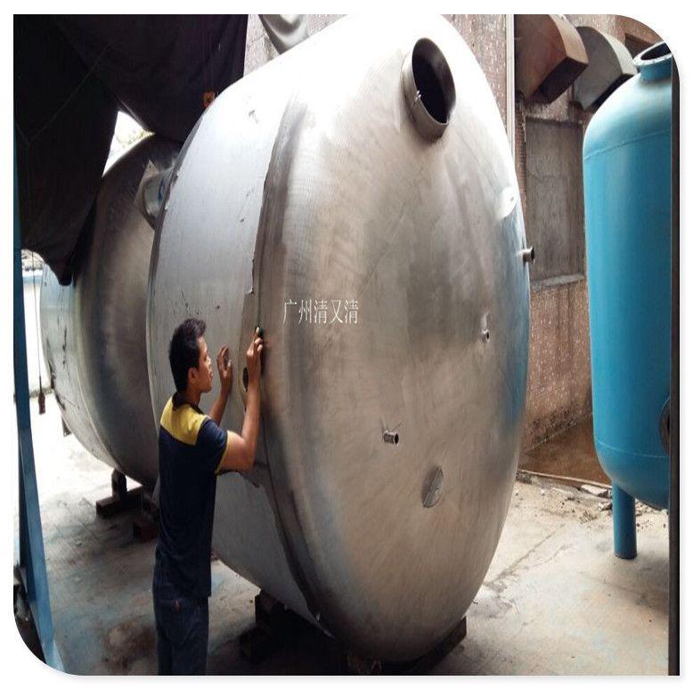 清又清品牌优质4000L不锈钢304双镜面无菌水箱|超纯水储水箱