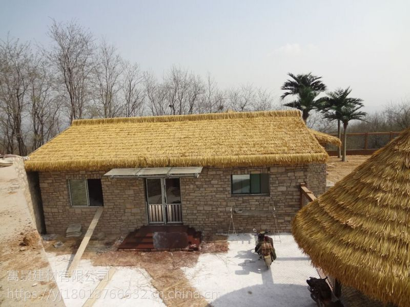 和龙市PVC防火茅草价格_PVC塑料茅草生产商供应