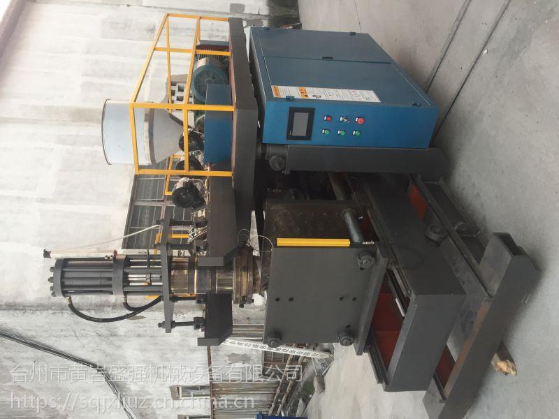 厂家直销 汽车通风管专用螺杆吹塑机 液压吹塑机