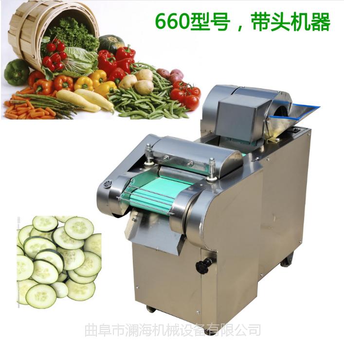 不带料斗式多用蔬菜切菜机 黄瓜专用切片 韭菜芹菜切断机厂家