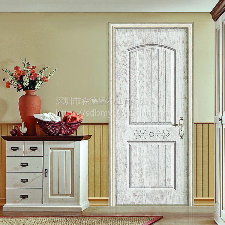 【森德堡】专业订做实木复合免漆室内套装门隔音卧室门公寓廉租房出租屋房门员工宿舍门