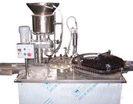 山东新玛口服液灌装机 液体灌装旋盖一体机 西林瓶灌装机 颗粒包装机厂家
