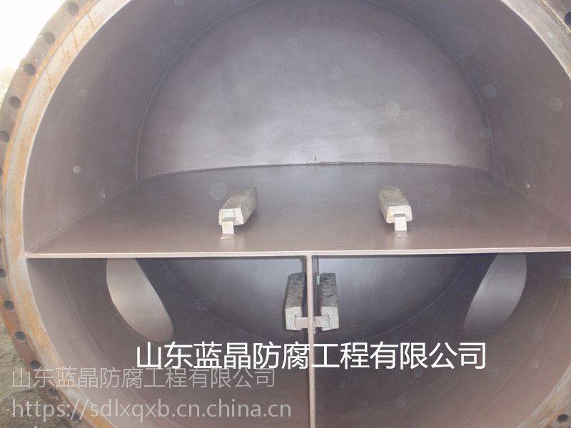 防腐涂层加牺牲阳极换热器保护防腐
