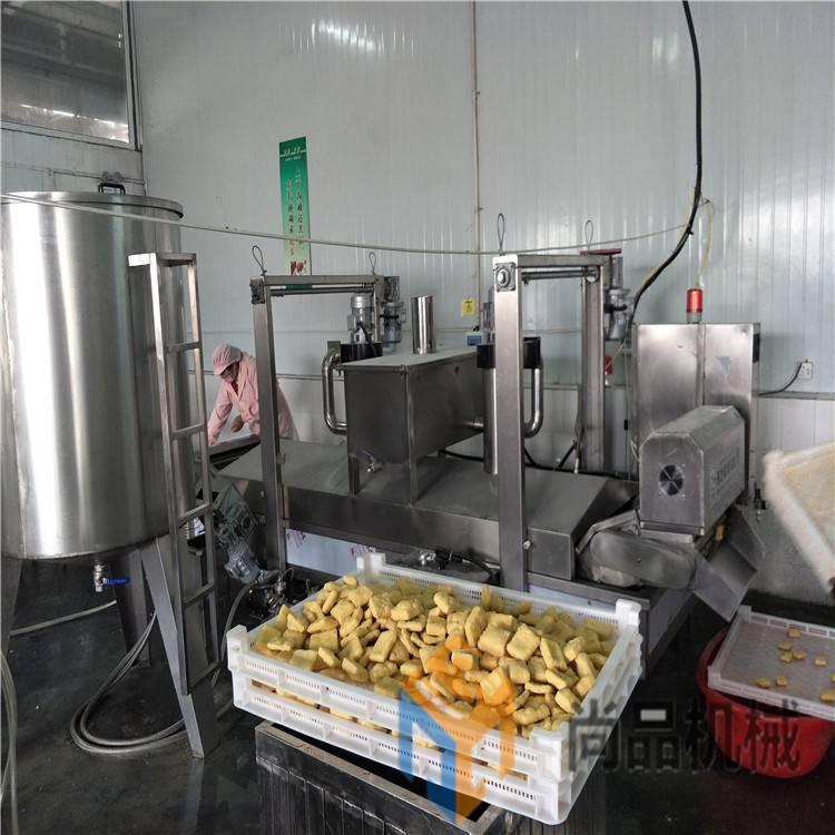 江米条挂糖浆机 脆饼干裹糖机 裹面包糠机