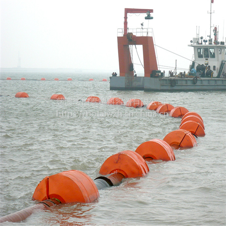 浙江超大浮力疏浚浮体 软管浮筒厂家
