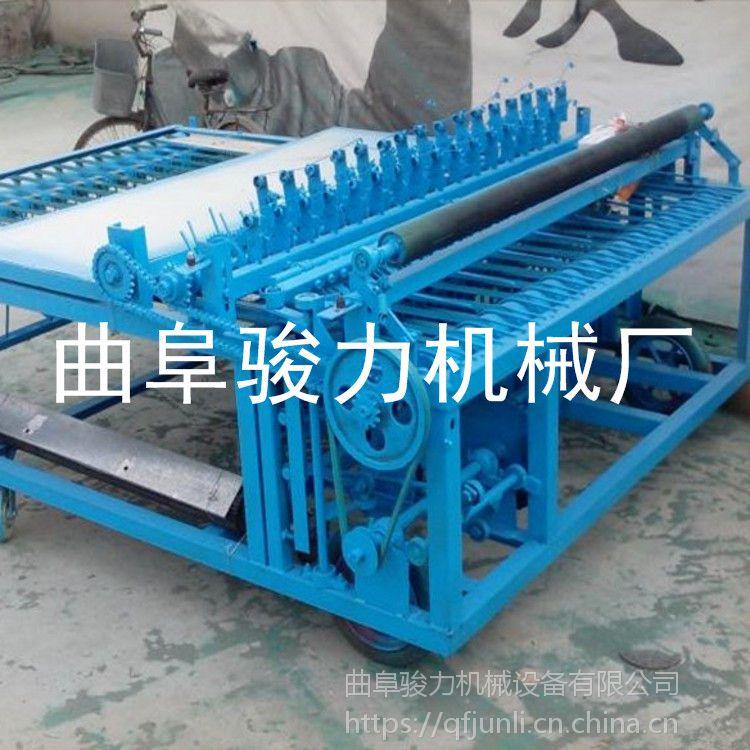 骏力 可加工多功能草帘机 电动草帘机 稻草加工编织机 厂家促销