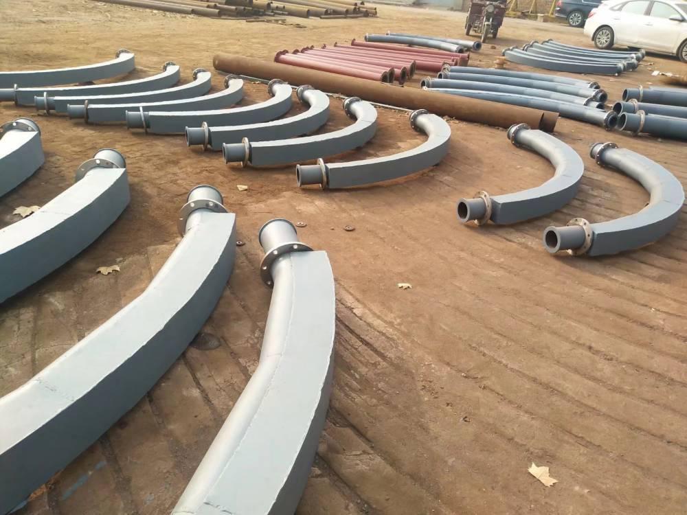 火电厂气力除灰管道耐腐蚀耐磨弯头厂家