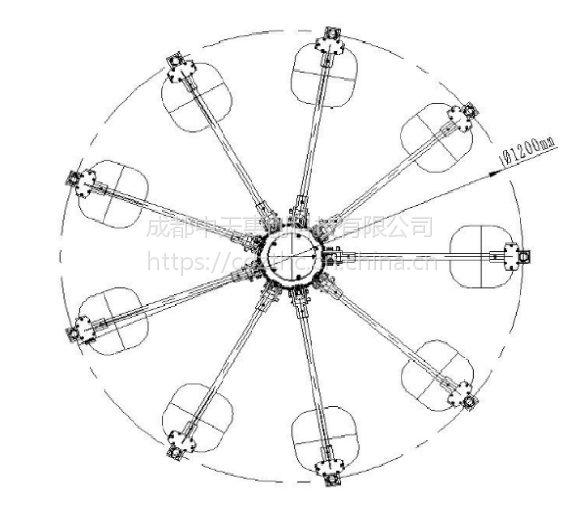 TN304 V频段发射天线(80MHz-1350MHz)