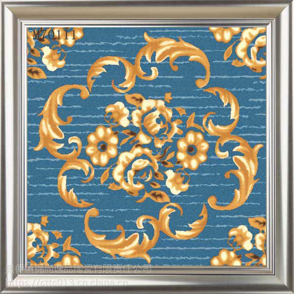 仿地毯瓷砖仿古砖地板砖入户玄关欧式客厅餐厅厨卫专用砖