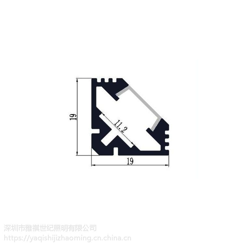 雅祺进口晶元芯片led室内常规硬灯条 供应定制无缝对接铝合金硬灯条