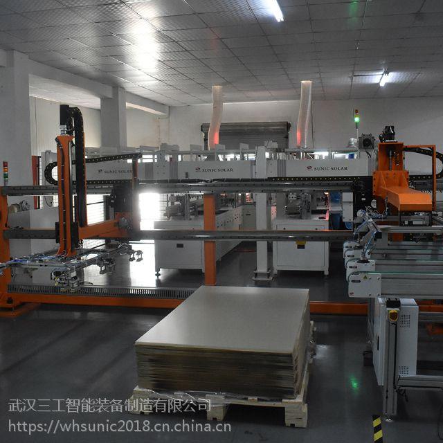 安徽合肥100MW太阳能光伏电池组件封装线方案与布局价格