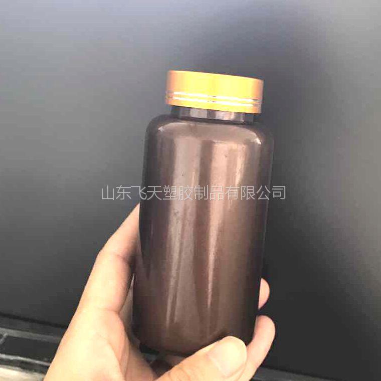 山东厂家专业生产PET保健品塑料瓶175ml直筒圆柱保健品瓶