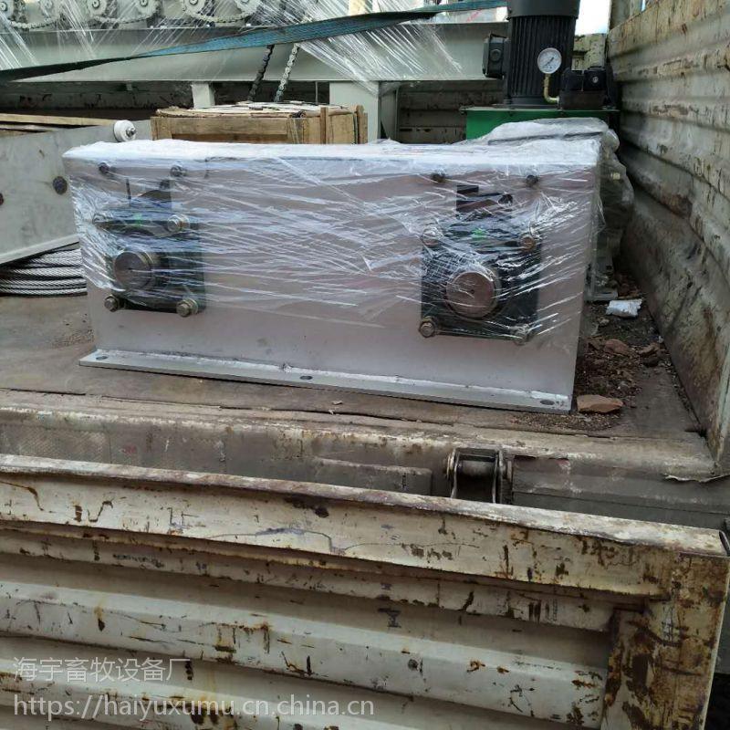 全自动刮粪机 一拖二一拖三干湿分离刮粪机 厂家销售生产