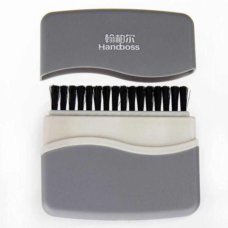 工厂OEM键盘刷 翰柏尔电脑周边两头刷通用 批发数码产品多功能清洁刷