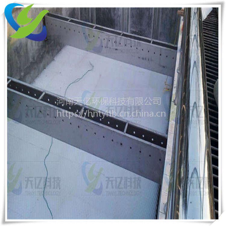 晋城六角蜂窝斜管填料 沉淀池斜管填料价格