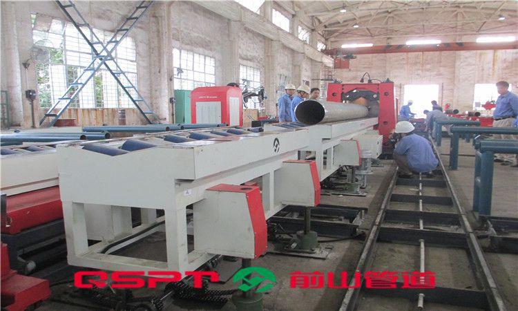 管道纵向物流输送系统(坡口机型) 厂家预制 上海前山