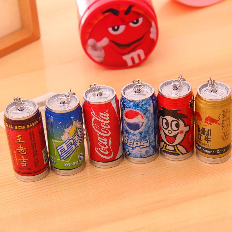 韩国文具 工厂直销卡通饮料瓶易拉罐圆珠笔 可爱创意个性笔 奖品图片