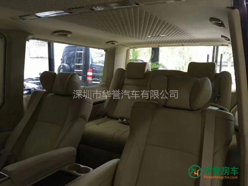 华誉房车告诉您大众T6商务车内饰改装案例