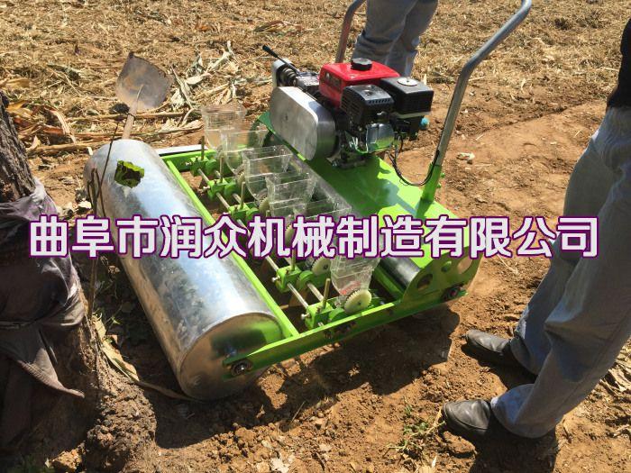 汽油自走式蔬菜精播机