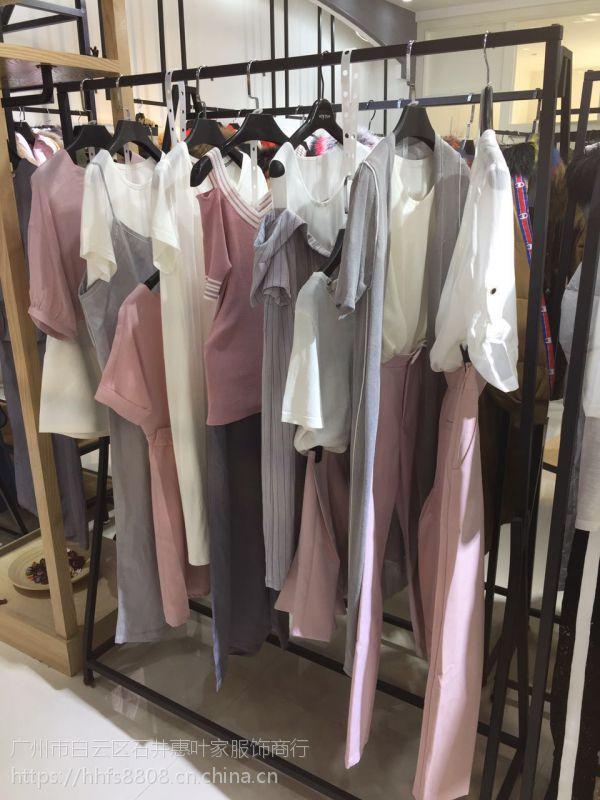 一线大牌女装羽纱国际18年个性品牌折扣女装专柜混批