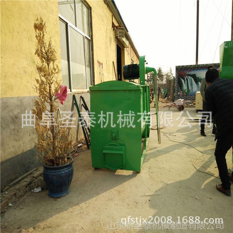 秸秆草糠颗粒饲料加工机组 每小时1吨330型平模颗粒饲料生产线