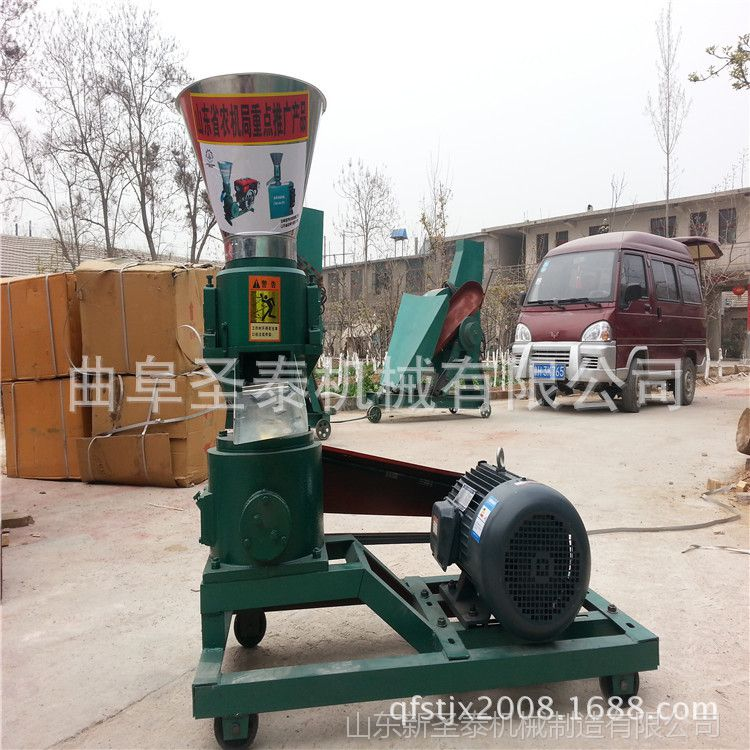 小型颗粒饲料机价格 制作颗粒饲料机 饲料机械制造厂