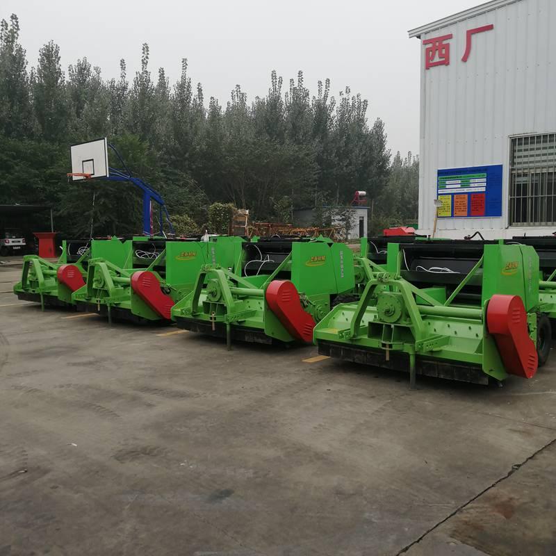 秸秆回收玉米收割机报价价格实惠 江苏1300玉米秸杆收割粉碎机