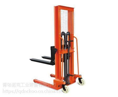 诺克单立柱全电动堆高车出厂价格、操作简单使用方便