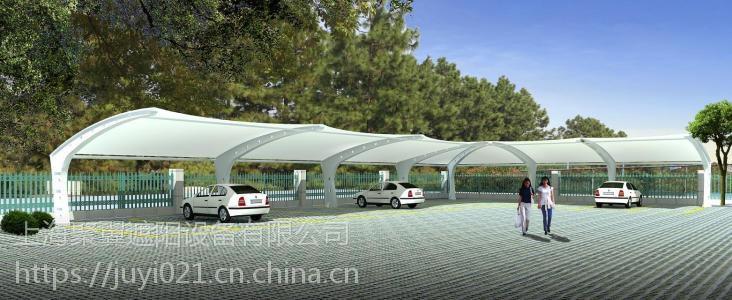 上海浦东永口膜结构车棚*永口膜结构车棚结构轻巧型