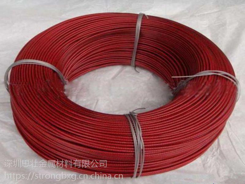 深圳批发包胶不锈钢丝绳 单股不锈钢丝软绳201