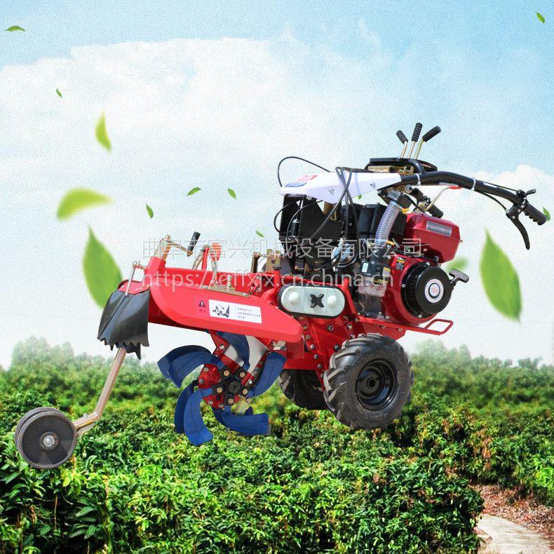 草莓开沟起垄机 富兴土豆大葱开沟培土机 葡萄园埋藤机哪里有卖