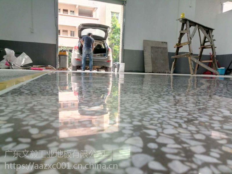 道滘水磨石地面翻新、道滘水磨石晶面处理= 硬化地坪