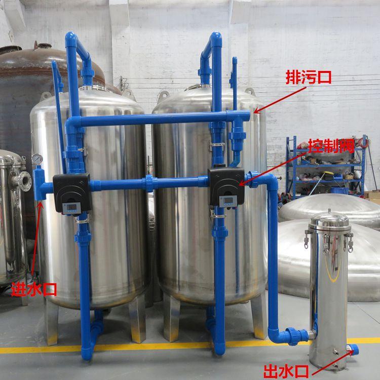 供应 钟山区山泉水井水过滤器 六枝特区全自动机械过滤器 脉德净
