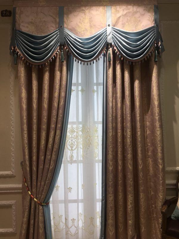 私人定制窗帘布艺加盟选择新疆法兰斯堡