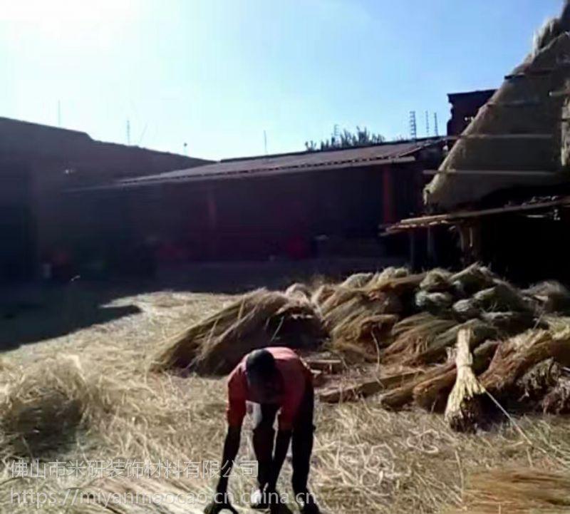 娄底市双峰本地农家乐装饰,茅草屋,茅草亭子工程承接