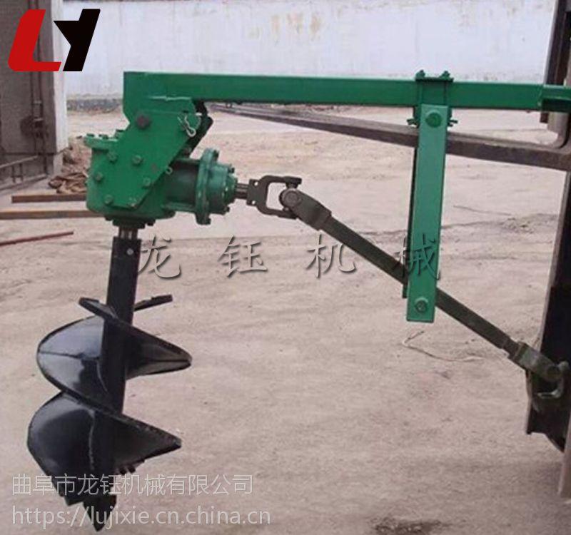 打孔机械报价 家用小型地钻挖坑机 种植机械