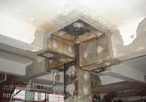 贵阳房屋梁柱加固截面加大灌浆料施工找贵阳加固公司