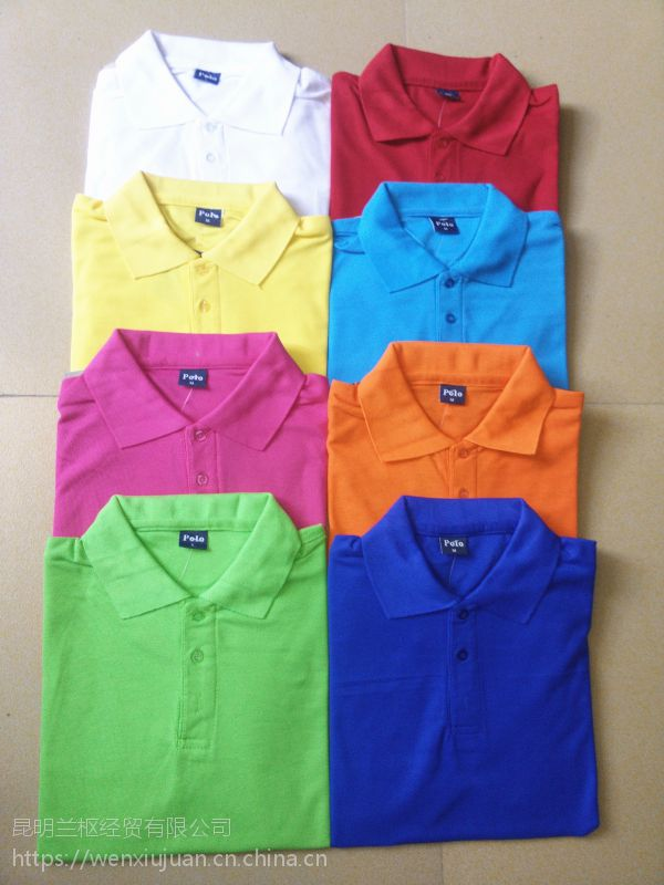 昆明纯棉广告衫定做 T恤衫印刷价格