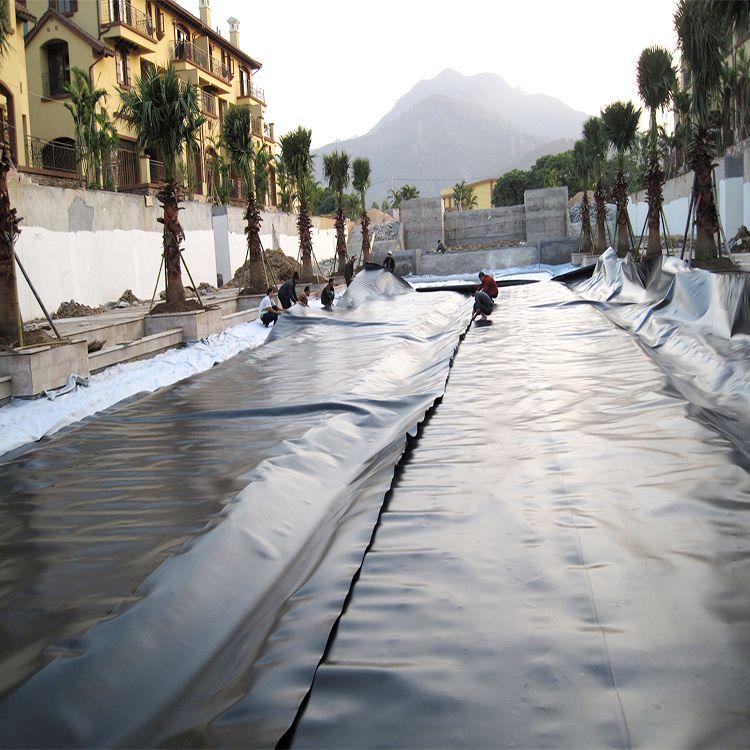 PE塑料板 高分子防水卷材 耐老化抗紫外线耐磨损 燃气输送专用 山东直供
