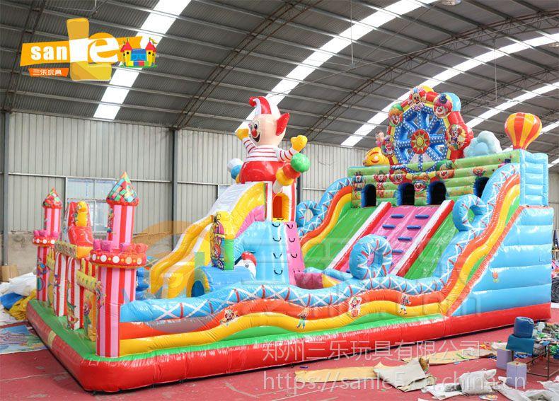 充气蹦蹦床项目浙江宁波市高滑梯