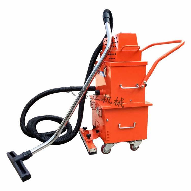 天德立200工业用干式吸尘器,环氧、固化剂地坪无尘施工用吸尘器