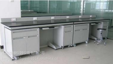 钢木实验台 实验边台 实验室操作台 实验室家具L*750*800/850mm