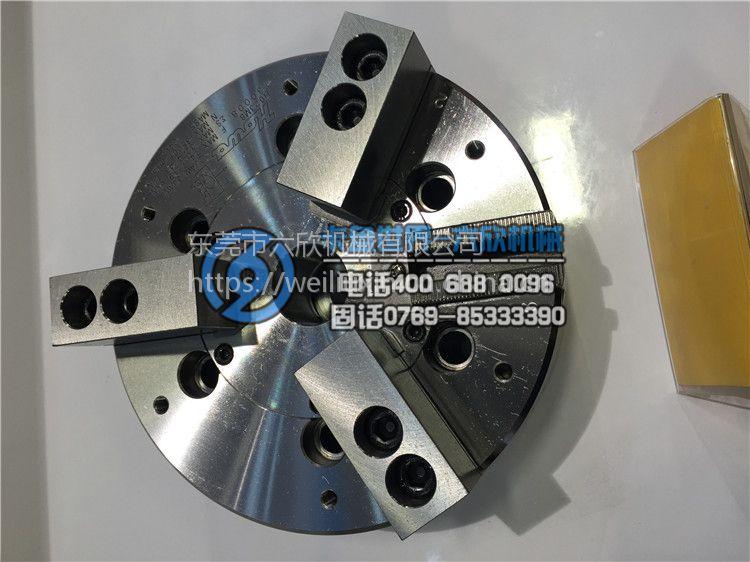 台湾亿川二三爪共用中空油压夹头液压卡盘NHT-208A6
