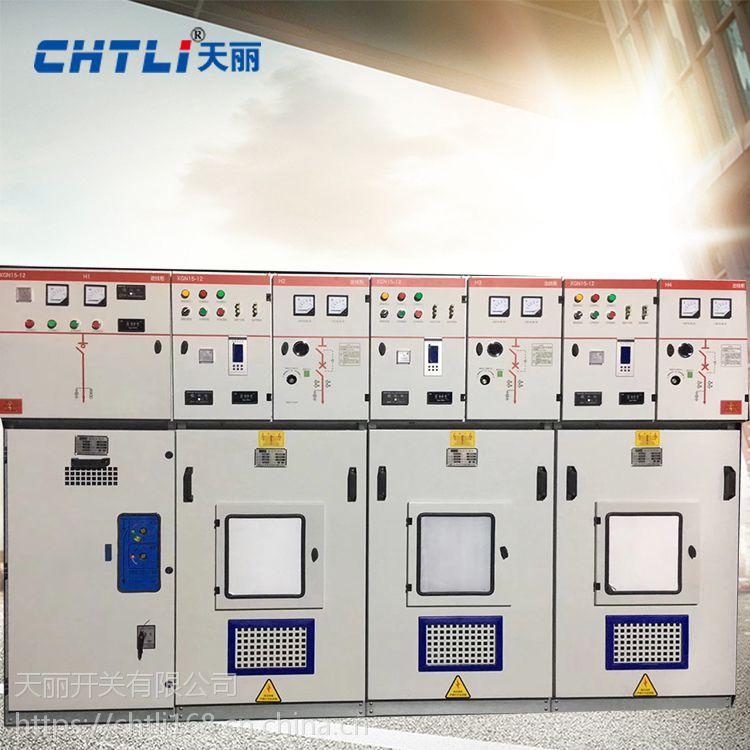 天丽XGN15-12交流金属半封闭环网柜 环网柜 10KV高压开关柜