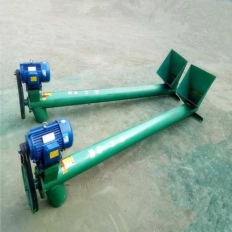 [都用]煤粉专用提升机 配套设备螺旋上料机 圆管绞龙式提升机